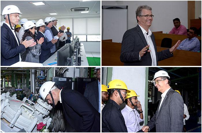 Bayer CMA Plant Launch