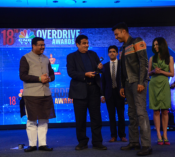 CNBC TV 18 Overdrive Awards 2016