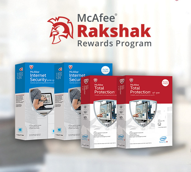 McAfee Rakshak Loyalty Program