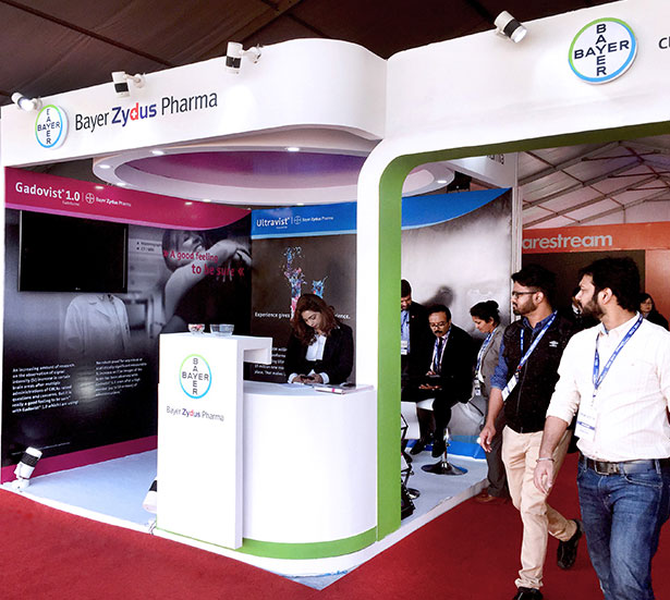 Bayer Stall organized by NeoNiche at IRIA 2019