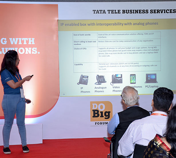 Tata Do Big Forum Event
