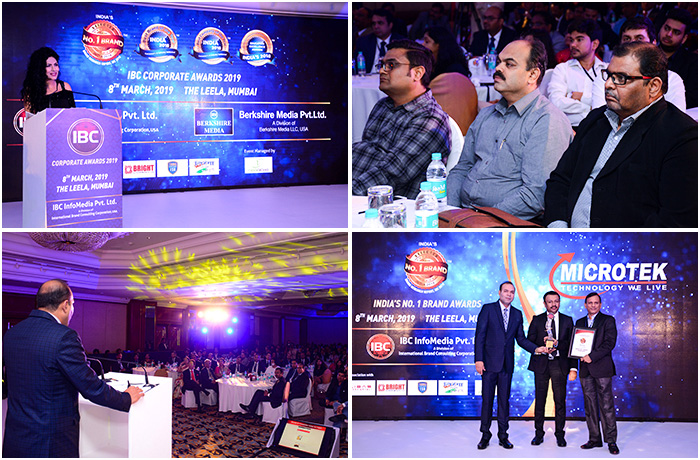 IBC India's No.1 Brand of the Year Awards 2018