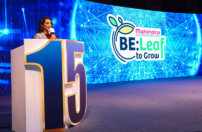 Mahindra Insurance Brokers BE:Leaf to Grow