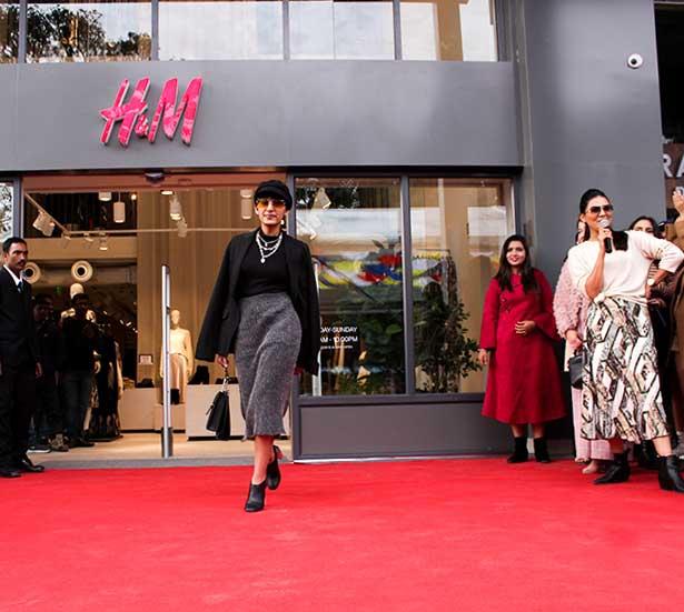 H&M Dehradun Launch
