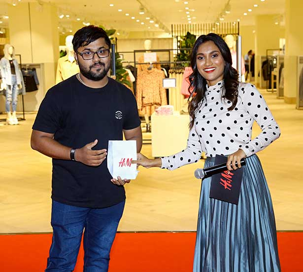 H&M Hyderabad Store Launch 2020